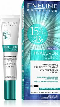 HYALURON CLINIC EYE AND EYELID CREAM 1 kus
