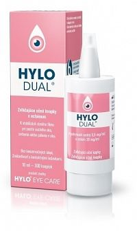 HYLO-DUAL zvlhčujúce očné kvapky 1x10 ml