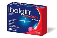 IBALGIN RAPIDCAPS 400 mg 20 tabliet