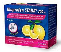 Ibuprofen STADA 200 mg perorálny prášok plv por (vre.papier/PE/Al/PE) 1x20 ks
