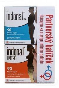Indonal Partnerský balíček women + man cps (pre oboch partnerov) women 90 ks + man 90 ks, 1x1 set