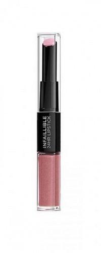 Infaillible 24H dlhotrvajúci rúž od L'Oréal Paris- 110 Timeless Rosé 1x5 ml