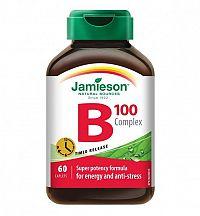 JAMIESON B-KOMPLEX 100 mg S POSTUPNÝM UVOĽŇOVANÍM tbl 1x60 ks