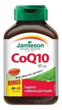 JAMIESON KOENZÝM Q10 60 mg 60+20 kapsúl