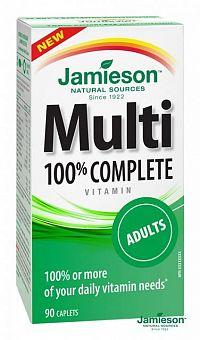 JAMIESON Multi COMPLETE multivitamín pre dospelých 90 tbl.