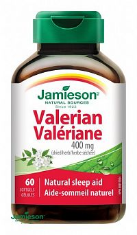 JAMIESON VALERIÁNA 400 mg tbl 1x60 ks