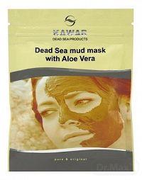 Kawar Bahenná Pleťová maska s aloe vera 75g s minerálmi z Mŕtveho mora a Aloe vera 1x75 g