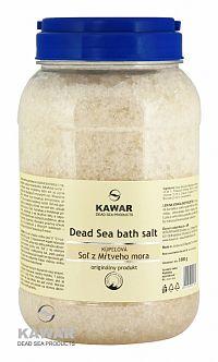 Kawar Sůl z Mrtvého moře 3 kg