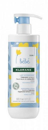 KLORANE BEBE LAIT HYDRATANT hydratačné mlieko 1x500 ml