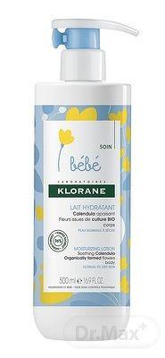 KLORANE BEBE LAIT HYDRATANT (inovácia 2018) hydratačné mlieko 1x500 ml