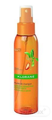 KLORANE HUILE DE MANGUE na suché a poškodené vlasy mangový olej 1x125 ml