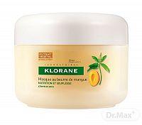 KLORANE MANGUE MASQUE - suché a poškodené vlasy výživná obnovujúca maska s mangovym maslom 1x150 ml