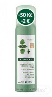 KLORANE SHAMP. SEC SÉBOR. à l'Ortie BRUNS () suchý šampón, seboregulačný so žihľavou, tmavé a mastné vlasy (-2 €) 1x150 ml