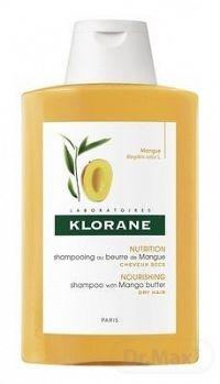KLORANE SHAMPOOING AU BEURRE DE MANGUE šampón s mangovým maslom na suché vlasy 1x200 ml
