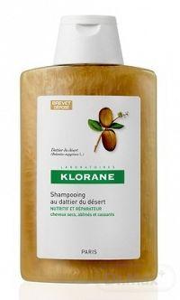 KLORANE SHAMPOOING AU DATTIER DU DÉSERT šampón na suché, poškodené a lámavé vlasy 1x200 ml