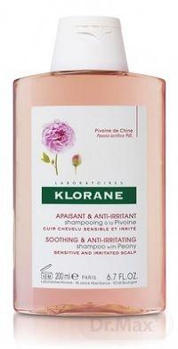 KLORANE SHAMPOOING À LA PIVOINE (inovácia) šampón na citlivú a podráždenú vlasovú pokožku 1x200 ml