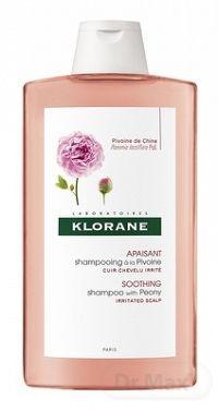 KLORANE SHAMPOOING À LA PIVOINE (inovácia) šampón na citlivú a podráždenú vlasovú pokožku 1x400 ml