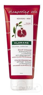 KLORANE SHAMPOOING SOIN À LA GRENADE ošetrujúci šampón proti vymývaniu farby 1x200 ml