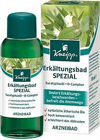 Kneipp Olejový kúpeľ na prechladnutie s eukalyptom 1 x 100 ml