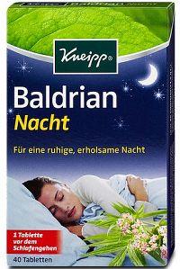 Kneipp Valeriána na dobrý spánok 40 tbl.