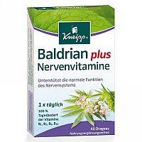 Kneipp Valeriána vitamín na nervy 40 dražé