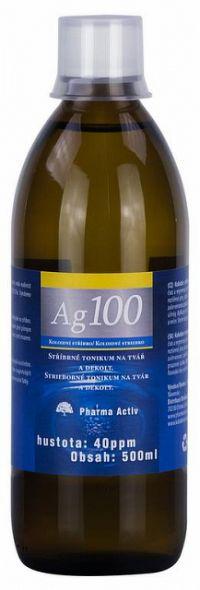 Koloidné striebro Ag 100 40ppm 1x500 ml