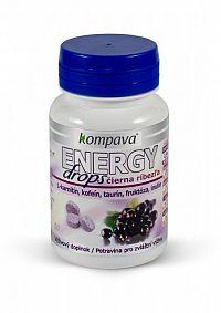 Kompava Energy drops - čierna ríbezľa 1x82 tbl.