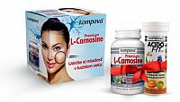 Kompava Premium L-Carnosine 60 kapsúl +AF10 tabliet pomeranč