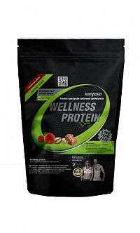 Kompava WELNESS DAILY PROTEIN-PISTACIA prášok, 100% rastlinný proteín, pistácia, 1x525 g
