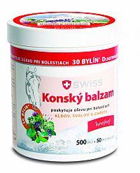 KONSKÝ BALZAM SWISS hrejivý (inov.16) 500+50 ml (550 ml)