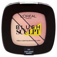 L'Oréal Paris Blush Sculpt lícenka 101 Soft Sand Ambre 3,8 g
