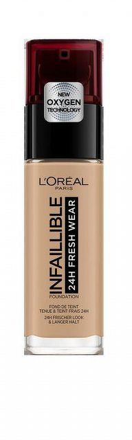 L'Oréal Paris Infallible dlhotrvajúci tekutý make-up 220 (RENO 220 M-UP) 1x30ml