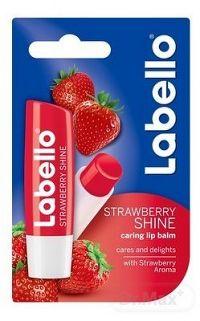 Labello STRAWBERRY SHINE (fruity shine) balzam na pery 1x4,8 g