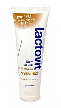 Lactovit Krém na ruky Vyživujúci, s UV ochranou 1x75 ml