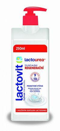 Lactovit Lactourea Telové mlieko Regeneračné, s lactosomas 1x250 ml
