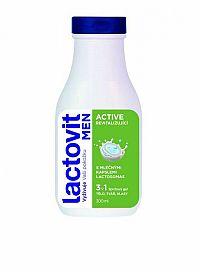 Lactovit MEN ACTIVE 3v1 Sprchový gél revitalizujúci 1x300 ml