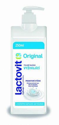 Lactovit Original Telové mlieko Vyživujúce, s lactosomas 1x250 ml