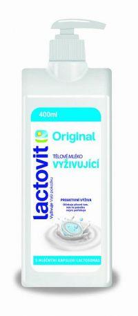 Lactovit Original Telové mlieko Vyživujúce, s lactosomas 1x400 ml
