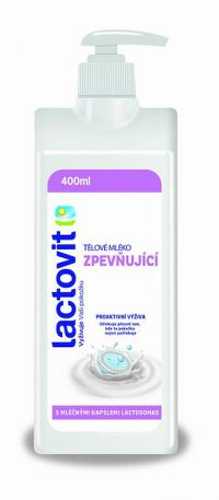 Lactovit Telové mlieko Spevňujúce, s lactosomas 1x400 ml