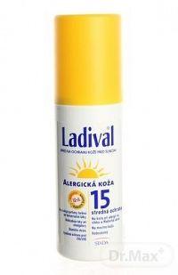 LADIVAL Allerg 15LF spray sprej na ochranu kože pred slnkom 1x150 ml