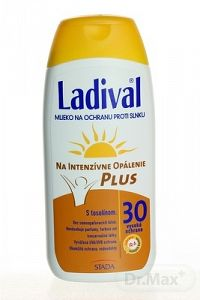LADIVAL P+T Plus 30 LF mlieko na ochranu proti slnku 1x200 ml