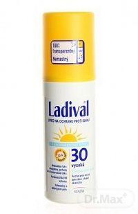LADIVAL Transparent Spray 30LF transparentný sprej na ochranu proti slnku 1x150 ml