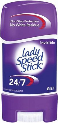 Lady Speed Stick 24/7 gel AP Invisible 65g