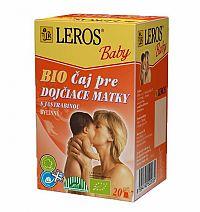 LEROS BABY BIO ČAJ PRE DOJČIACE MATKY s jastrabinou, 20x2 g