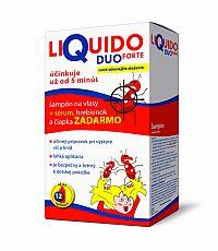 LiQuido DUO FORTE proti všiam šampón 200 ml + (sérum 125ml + hrebienok+čapica) , 1x1 set