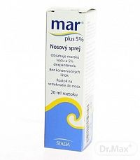 MAR plus 5% nosový sprej 1x20 ml