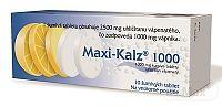 Maxi-Kalz 1000 tbl.eff.10 x 1000mg