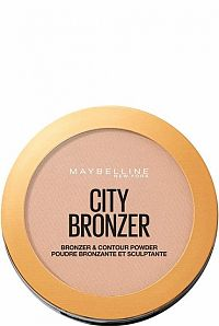Maybelline City Bronzer bronzer a kontúrovací púder 250 Medium Warm 8 g
