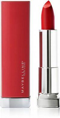 Maybelline Color Sensational Made For All RED rúž 1 kus