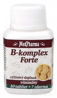 MedPharma B-komplex Forte 1×37 tbl, výživový doplnok